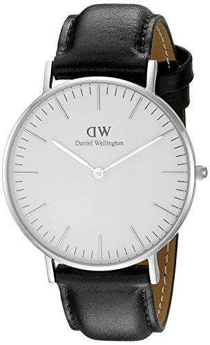 Daniel-Wellington-Damen-Armbanduhr-Analog-Quarz-Leder-DW00100053