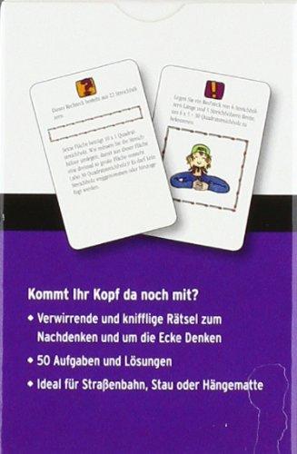 Pocket-Quiz-Logik-Rtsel-50-knifflige-Denk-bungen-Pocket-Quiz-Ab-12-Jahre-Erwachsene