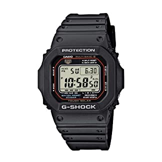Casio-G-Shock-Herren-Armbanduhr-Funk-Solar-Kollektion-Digital-Quarz-GW-M5610-1ER