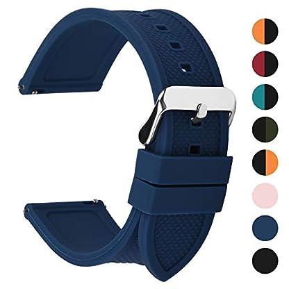 Fullmosa-Silikon-Uhrenarmband-18mm-20mm-22mm-24mm-mit-Schnellverschluss-in-8-Farben-Regenbogen-Weich-Silikon-Uhrenarmband-mit-Edelstahlschnalle