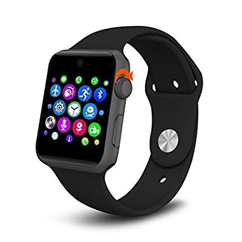 ehootech-Bluetooth-SmartWatch-Armbanduhr-25D-Arc-HD-Bildschirm-Untersttzung-SIM-fr-Android-iOS-Handy