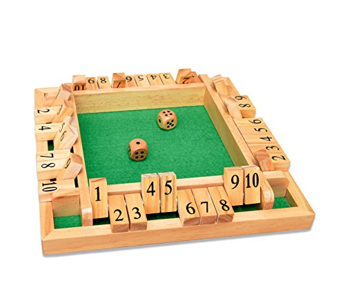 Noris-Spiele-606108013-Deluxe-Shut-the-box-Partyspiel