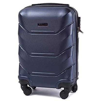 VINCI-LUGGAGE-Gerumiger-Kabinentrolley-Leichter-Flugzeugkoffer-Luxuriser-und-moderner-Koffer-mit-zweistufigen-Teleskopgriff-und-Kombinationsschloss