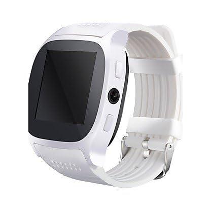 Kamera Mit Sim Karte.Histon Smart Uhr T8 Uhr Mit Sim Karte Steckplatz 2 0 Mp Kamera Push Nachricht Bluetooth Konnektivitat Android Handy Smartwatch T8