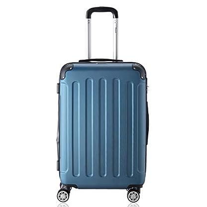 Flexot-Reisekoffer-2045-Gre-M-L-XL-oder-3er-Set-in-allen-Farben-Trolley-Reisegepck-Reisekoffer-Set-Koffer-Trolley-Hartschale-Bordcase-4-Reifen-360-Modell-2045-ABS-Aluminium-Griff