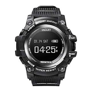 letter54-Bluetooth-Smartwatch-Fitness-Uhr-Pulsmesser-Blutdruck-Damen-Wasserdicht-Outdoor-Herren-Uhren-Angebote-Rund-Smart-Watch-Sport-Fitness-Herzfrequenz-Tracker-Blutdruck-Kalorien-Wasserdicht