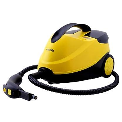 HKoenig-NV6200-Hochdruck-Dampfreiniger15-L-Wassertankmit-Zubehrpaket4-bar2000-Wgelb