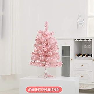 TOPYL-Strmten-Knstlicher-Weihnachtsbaum-Kiefer-Premium-Scharnier-Xmas-Baum-wLED-leuchten-Zierschmuck-Eco-freundlich-Kirschblte-Urlaub-Dekor