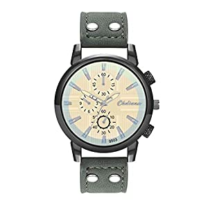 Armbanduhr-Men-Liusdh-Uhren-Blaues-Uhrengehuse-mit-kurzem-Streifendruck-und-Farbverlauf-und-mehrscheibeniger-Alloy-Buckle-Uhr
