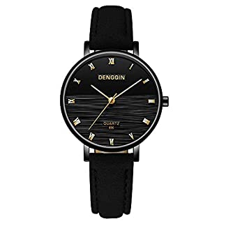 Lssige-Armbanduhr-Mode-Damenuhr-Top-Marke-DENGQIN-Uhren-Lederuhren-fr-Frauen-Javpoo