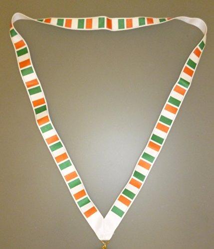 44cm-Lanyard-mit-irischen-Flaggen-Irland-Flagge-Irish-Souvenirs-EURO-2016-MI3