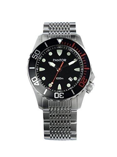 Pantor-Seahorse-Herren-Automatik-Edelstahl-Diver-Uhren-3300-Fe-Wasserdicht