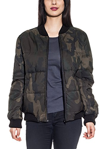 MILANO COUTURE – Camouflage Puffy Jacke