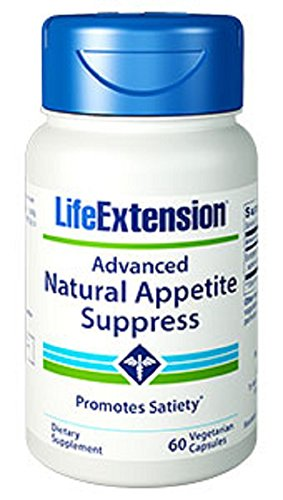 Life Extension Advanced Natural Appetite Suppress Vegetarian Capsules, 60 Count by Life Extension