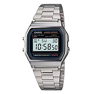 Casio-Armbanduhr-A158WA-1DF