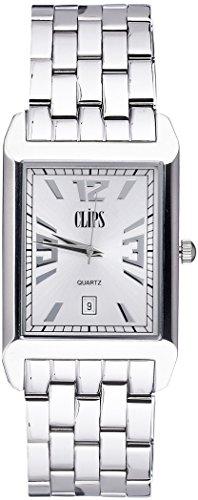 Clips-Herren-Armbanduhr-Analog-Quarz-Alloy-553-7001-88