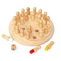 Morza-Holz-Rund-Memory-Match-Stick-Schach-Spiel-spielt-Holz-Kinder-Kinder-frhe-pdagogische-Blcke-Toy-Geburtstags-Geschenk