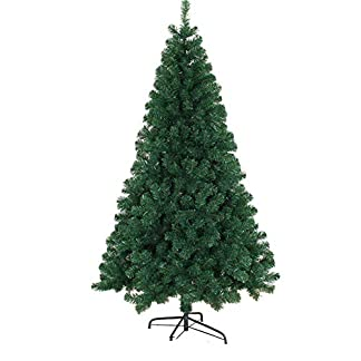 JRL-Grn-Fichte-Baum-Metallstnder-Premium-PVC-Nadeln-Encryption-Tree-Fr-Home-Festival-Party-In-Ihrem-Zuhause-Indoor-Outdoor-Sapin-De-Noel-Bois