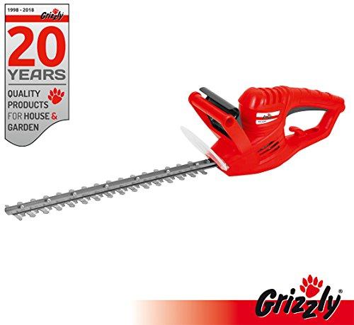 Grizzly-Elektro-Heckenschere-EHS-4500-Schnittlnge-41-cm-450-Watt-Sicherheitsschalter-Messerbremse