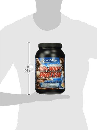 IronMaxx 100% Whey Protein / Whey Proteinpulver Schokolade auf Wasserbasis / Eiweißpulver für Eiweißshake mit Milchschokoladen Geschmack / 1 x 900 g Dose