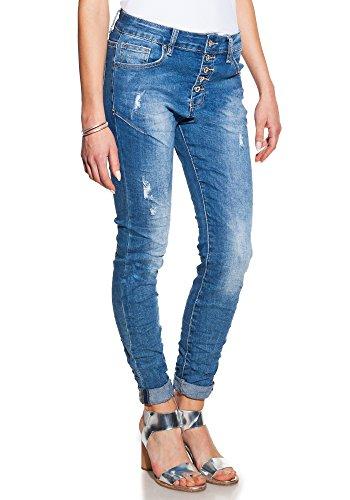 Candy Dresses – Skinny Jeans mit beunruhigten Details