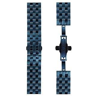 DETOMASO-Uhrenarmband-Milanaise-Edelstahl-Armband-20mm-22mm-24mm-mit-Schnellwechsel-Federsteg