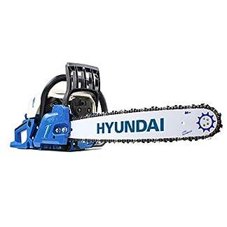 HYUNDAI-Benzin-Kettensge-HYC6220-professionelle-MotorsgeBenzinsge-mit-510mm-Schwert-62cc-3PS-Motor-ausgeliefert-mit-2-Ketten-und-praktischer-Tragetasche