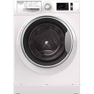 Hotpoint-NR548GWSA-Freistehend-Frontlader-8-kg-1400-Girimin-A-Wei-Waschmaschine