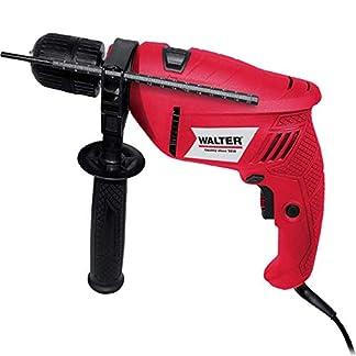 WALTER-Werkzeuge-1389-1-Schlagbohrmaschine-im-Koffer-500-W-230-V-Rotschwarz