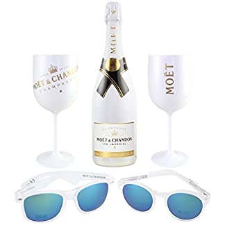 Moet-Chandon-Ice-Imperial-Summer-Day-Party-Set-inkl-2-Sonnenbrillen-1x-Damen-1x-Herren-2-Glser-Champagner-Flasche