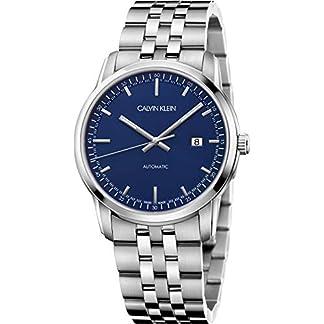 Calvin-Klein-Herren-Analog-Automatik-Uhr-mit-Edelstahl-Armband-K5S3414N