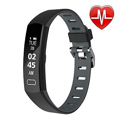 LIGE-Fitness-Armband-mit-Pulsmesser-Wasserdicht-IP67-Fitness-Tracker-Smartwatch-GPS-Aktivittstracker-Vibrationsalarm-AnrufSMS-fr-Damen-Mnner-Smartwatch