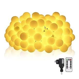 100-LED-Glhbirne-Lichterkette-Warmwei-outdoor-133-m-GreenClick-Innen-und-Auen-Lichterkette-mit-FernbedienungGlobe-Lichterkette-strombetriebenLichterkette-fr-Balkon-Party-WeihnachtenGarten