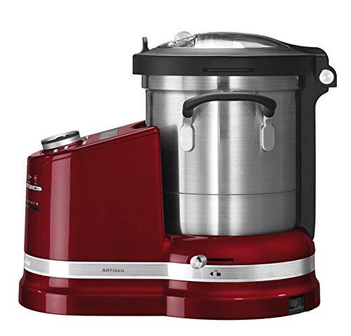 KITCHENAID-5KCF0103EER4-Artisan-Kchenmaschine-mit-Kochfunktion-Empirerot-1500-Watt