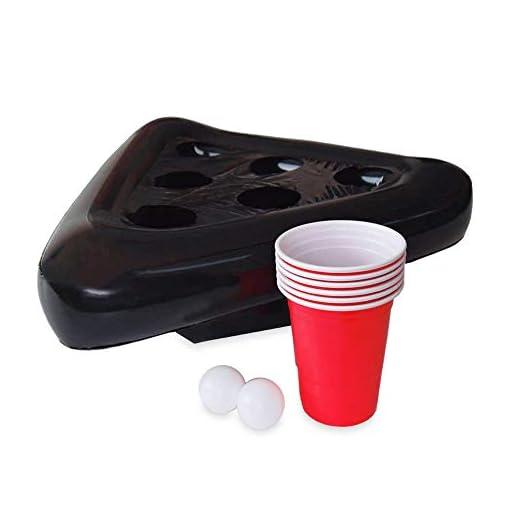 Monsterzeug-Beer-Pong-Hat-Inflatable-Trinkspiel-Bierpong-Hut-aufblasbar-Partyzubehr-mit-Bechern-und-Bllen-41-x-16-x-41-cm-Hut-aufgeblasen