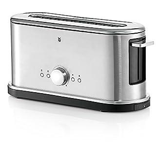 WMF-LINEO-Toaster-Langschlitz-XXL-Toast-Brtchenaufsatz-10-Brunungsstufen-Bagel-Funktion-berhitzungsschutz-900-W-Edelstahl-matt