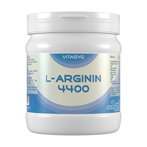 L-Arginin 4400 – 260 L-Arginin Kapseln hochdosiert mit 4400mg L-Arginin HCL pro Tagesdosis