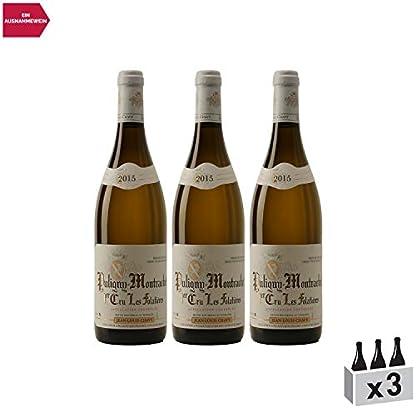Puligny-Montrachet-premier-cru-Les-Folatires-Weiwein-2015-Domaine-Jean-Louis-Chavy-gU-Burgund-Frankreich-Rebsorte-Chardonnay-3x75cl