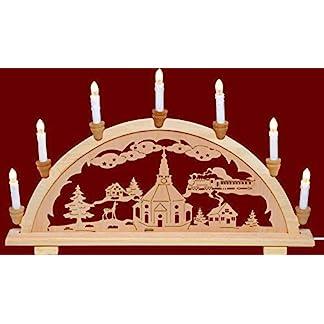 yanka-style-Schwibbogen-Lichterbogen-Leuchter-Seiffener-Kirche-traditionelles-Motiv-7flammig-Weihnachten-Advent-Geschenk-Dekoration-83129