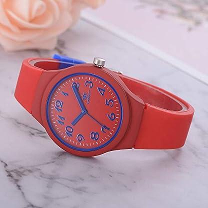 Sportuhr-Frauen-Silikon-Armbanduhr-Kaiki-Sigkeiten-Farbe-Student-Casual-Quarz-Uhren