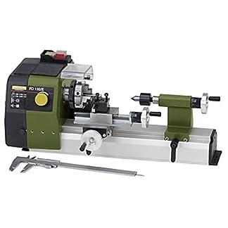 PROXXON-Feindrehmaschine-FD-150E-przise-Drehbank-mit-2-stufigem-Riemenantrieb-Geschwindigkeitsregelung-Spindeldrehzahlen-bis-5000min-Art-Nr-24150
