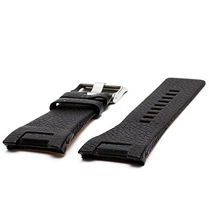 Diesel-Uhrenarmband-32mm-Leder-Schwarz-Uhrband-Set-DZ-1215