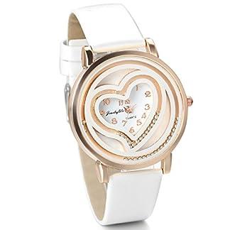 JewelryWe-Damen-Armbanduhr-Analog-Quarz-Fashion-Exquisit-Leder-Armband-Uhr-mit-Fliefhig-Beads-Doppel-Herz-Zifferblatt-Wei