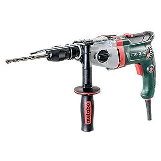 Metabo-600785500-Schlagbohrmaschine-SBEV-1300-2-Schnellspannfutter-Futuro-Plus-Handgriff-Anschlag-Koffer-VTC-Vollwellenelektronik-Rechts-Linkslauf-1300-W-44-Nm-Drehzahl-0-3100-min