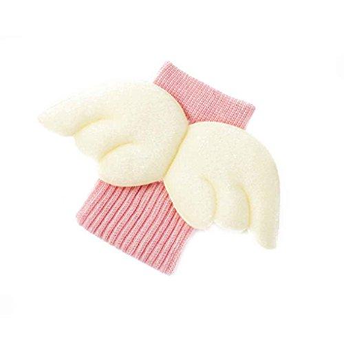 Baby 3D Weiß Flügel Design Socken Frühling Herbst Baumwolle Kinder Kniehohe Socken Kleinkind Beinlinge Minzhi