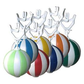 7-x-Tischtuchbeschwerer-Tischtuchgewichte-Tischtuchklammer-Kugel-Tischdeckenbeschwerer-Tischtuchbommel