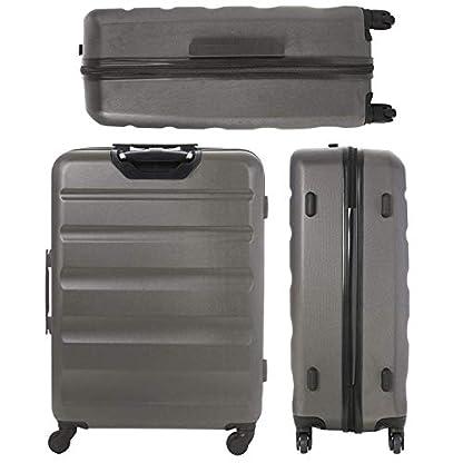 Aerolite-Leichtgewicht-ABS-Hartschale-4-Rollen-3-Teilig-Trolley-Kofferset-Koffer-Reisekoffer-Hartschalenkoffer-Rollkoffer-Gepck