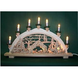 Schwibbogen-Lichterbogen-Wildftterung-10flammig-innenbeleuchtet-Weihnachten-Advent-Geschenk-Dekoration-10787