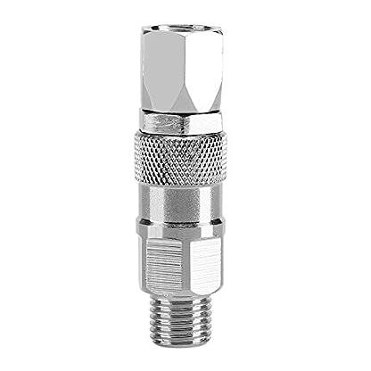 Gardena-Kupplung14-Zoll-Schwenkgelenk-Spritzpistole-Edelstahl-Joint-Hochdruck-Airless-Spritzpistole-Drehgelenk