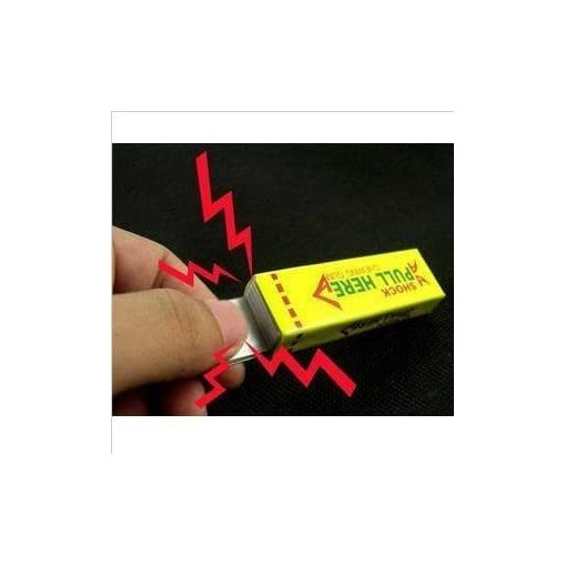 Elektroschock-Kaugummi-Stromschlag-Party-Scherzartikel